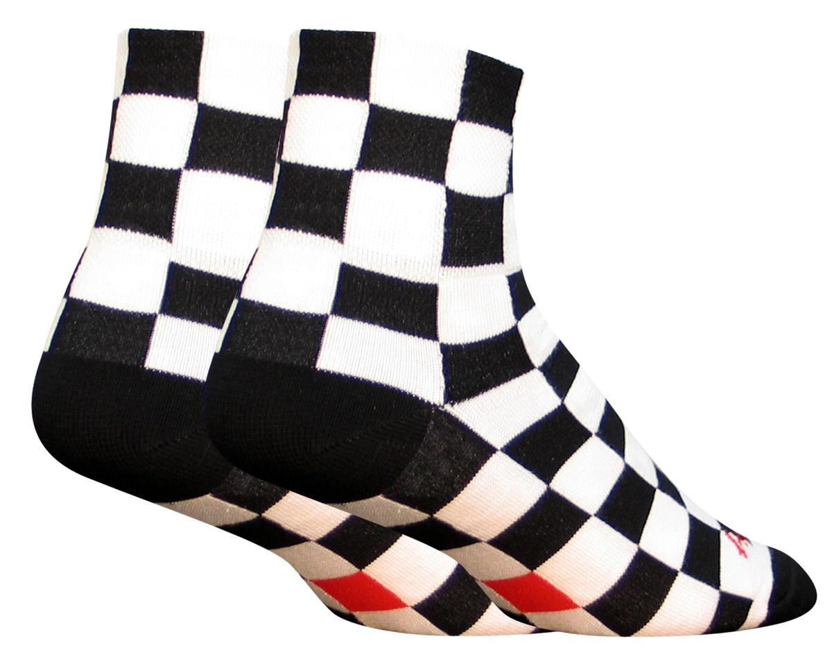 Sockguy Ridgemont Socks (Black/White) (L/XL)
