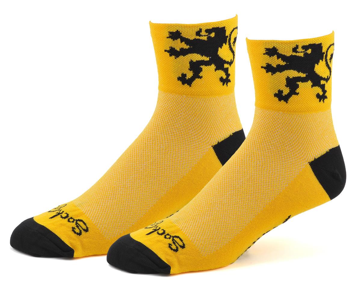 "Sockguy 3"" Socks (Lion Of Flanders) (L/XL)"