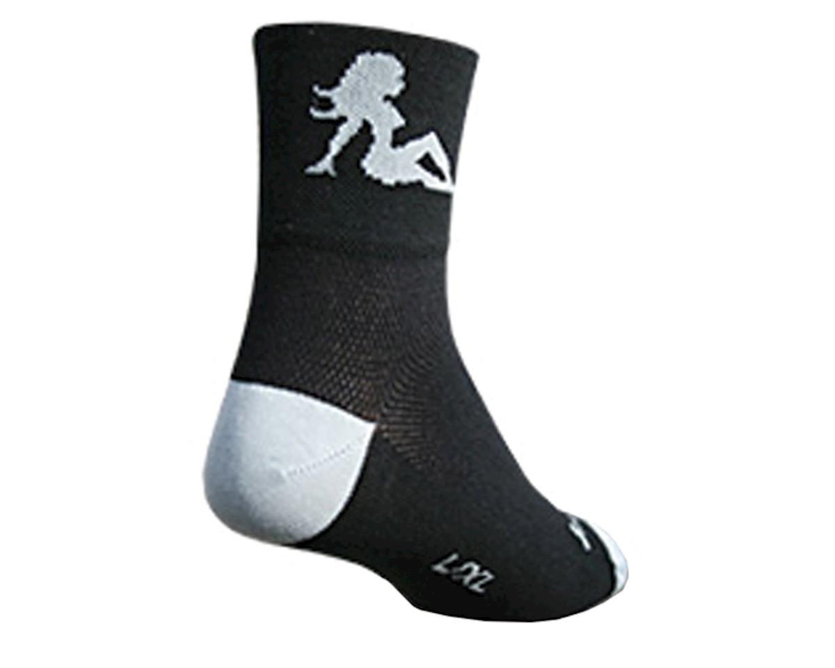 "Sockguy 3"" Classic Socks (Mudflap Girl) (L/XL)"