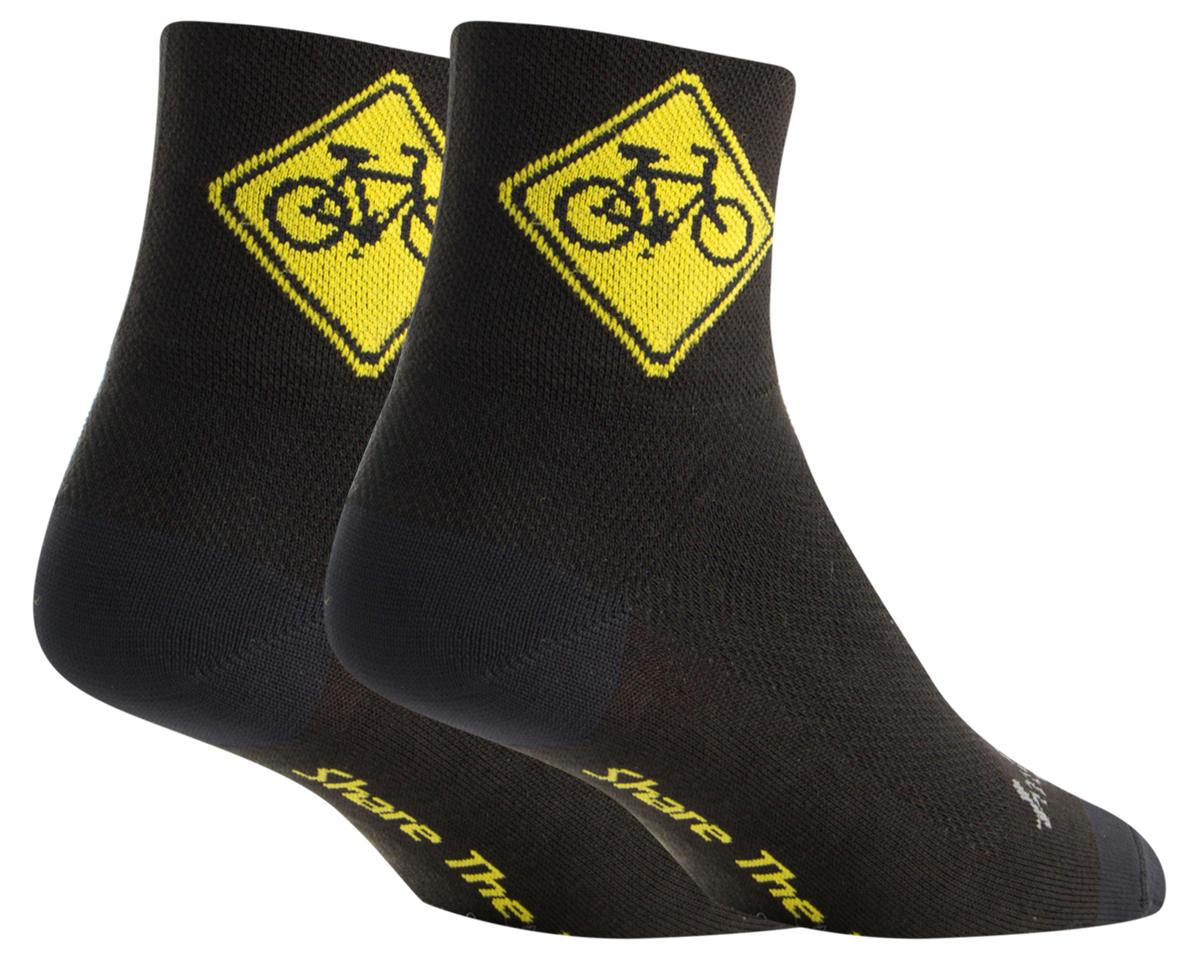 Sockguy Share Socks (Black) (S/M)