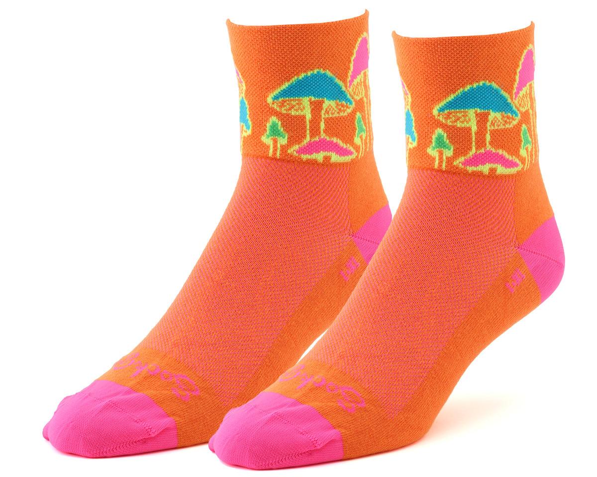 Sockguy Trippin Socks (Orange) (S/M)