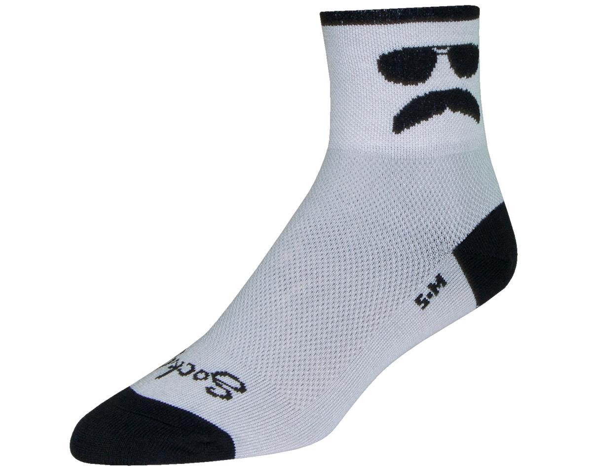 "Sockguy Classic 3"" Cuff Socks (Trooper) (S/M)"
