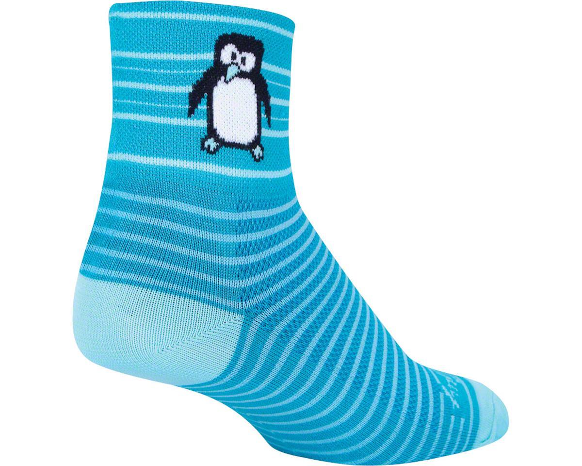 Sockguy Tux Socks (Blue) (L/XL)