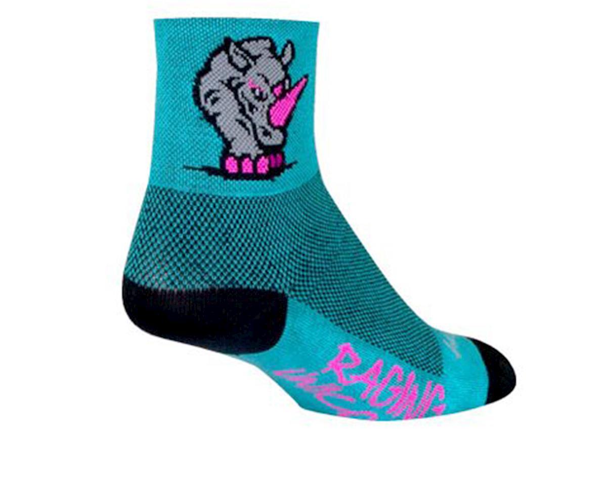 "Sockguy 3"" Socks (Uniqueen Rhino) (S/M)"