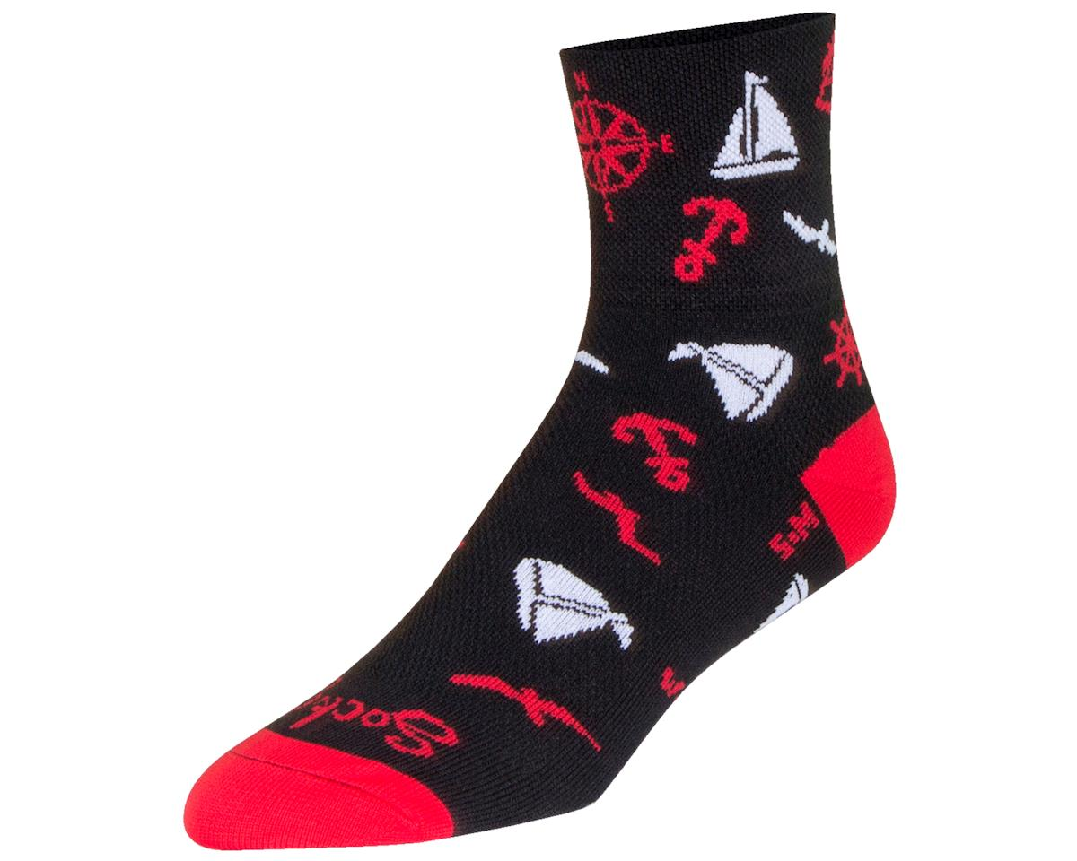 "Sockguy 3"" Classic Socks (Voyage) (S/M)"