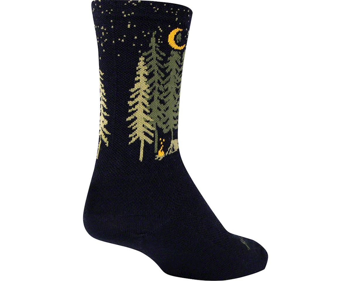Sockguy Wool Camper Sock (Black)
