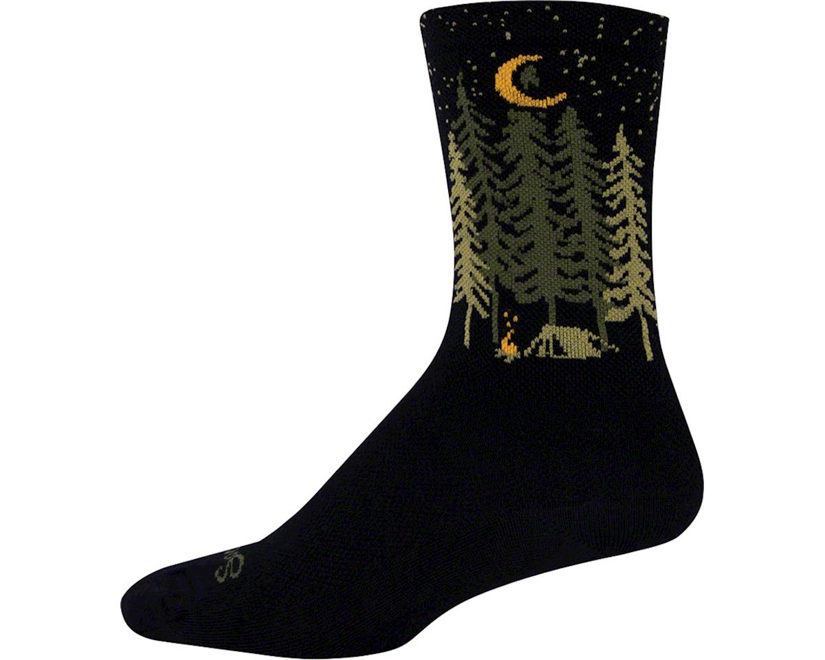 """Sockguy 6"""" Wool Socks (Camper) (L/XL)"""