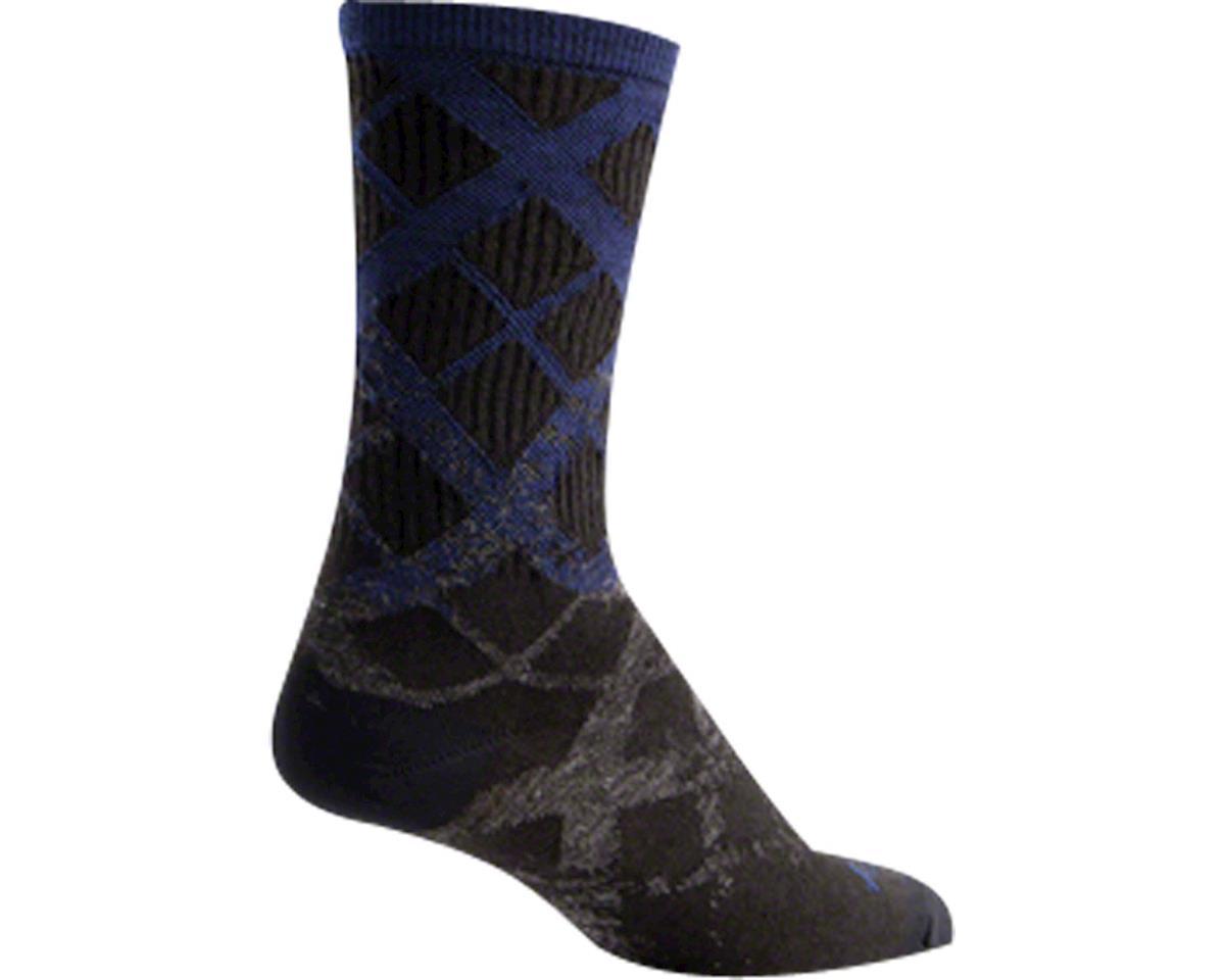 Sockguy Wool Fade Sock (Black)