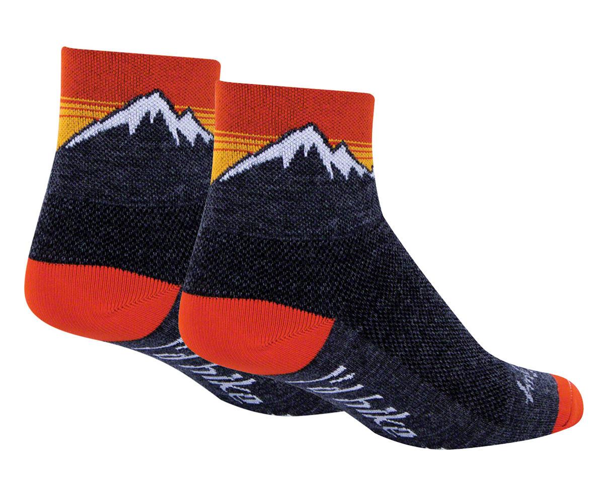 Sockguy Wool Hiker Sock (Black) (S/M)