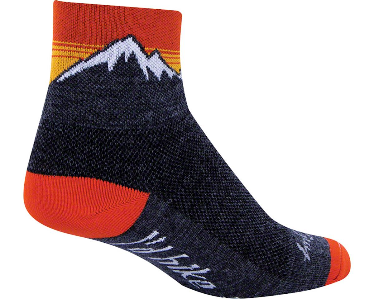 Sockguy Wool Hiker Sock (Black) (L/XL)
