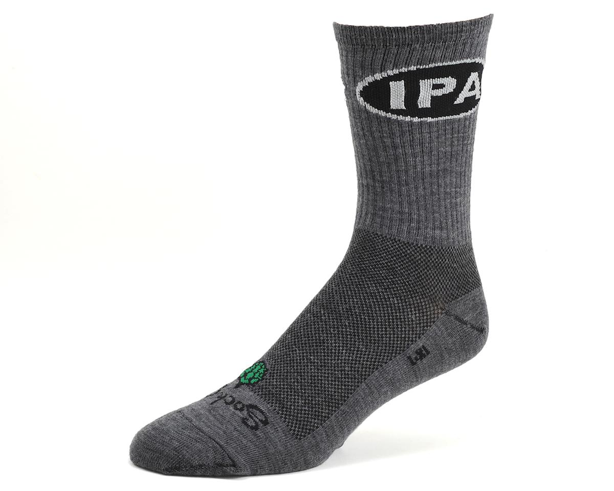 "Sockguy 6"" Wool Crew Socks (IPA) (S/M)"