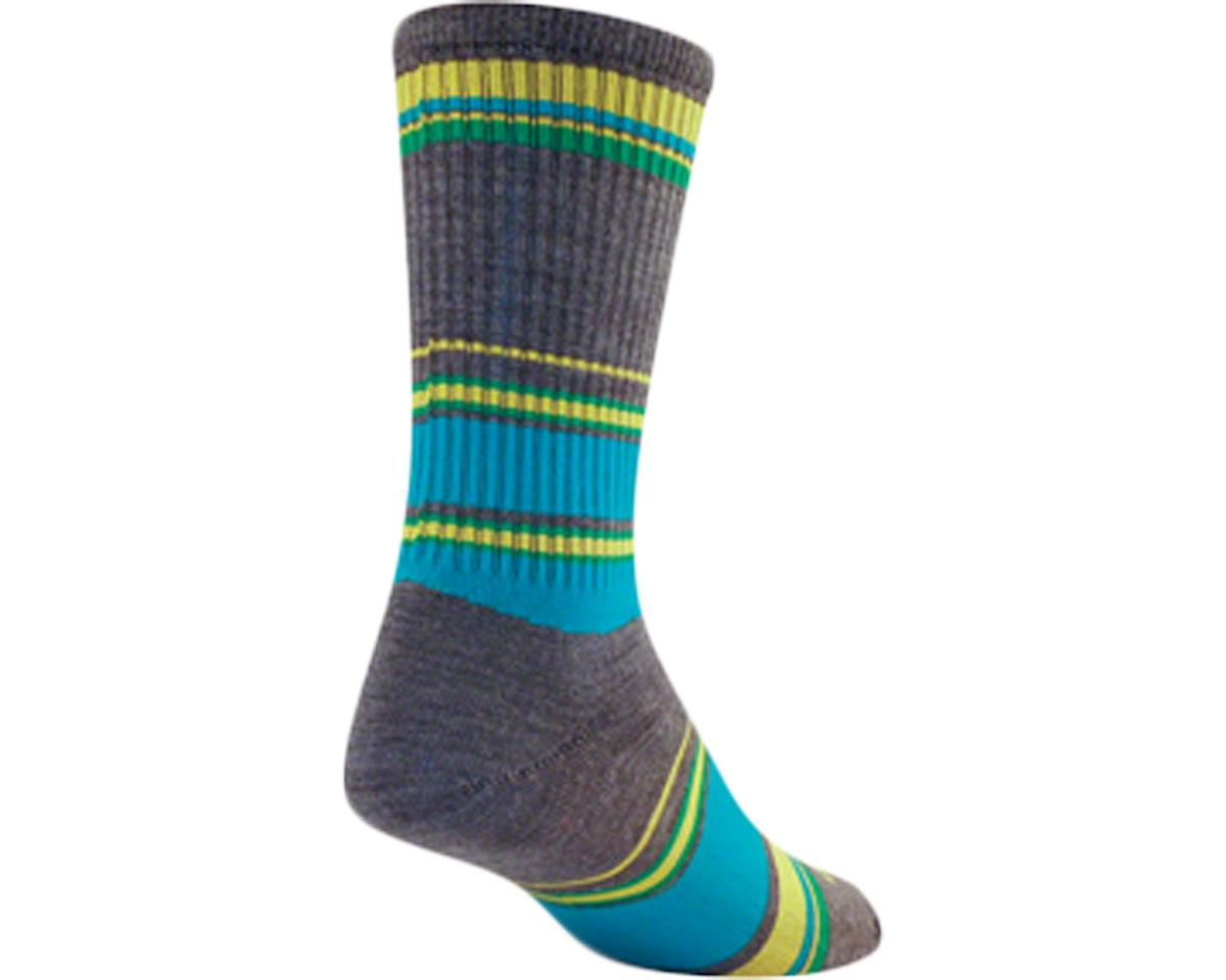 "Sockguy 6"" Wool Socks (River) (L/XL)"