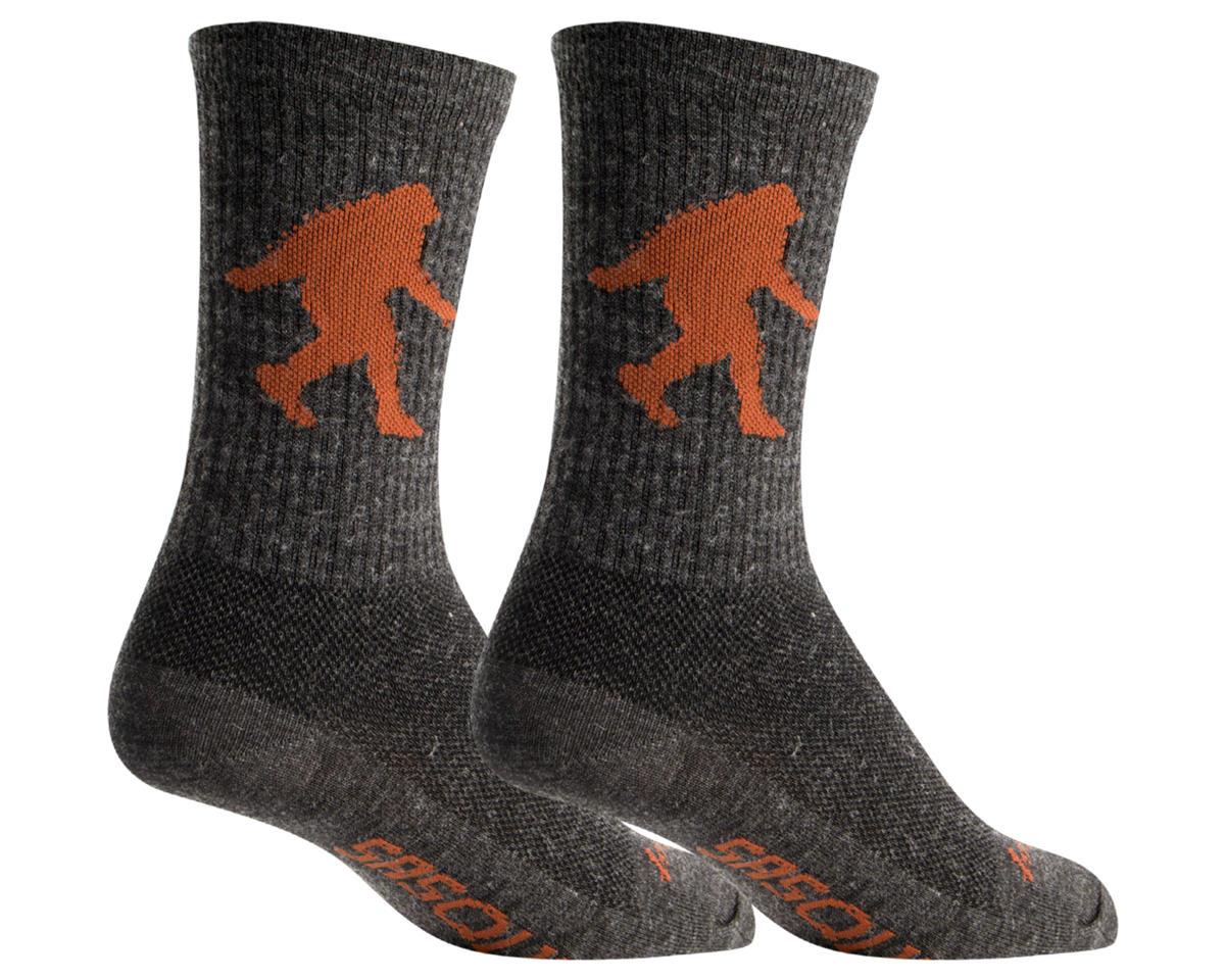 Sockguy Wool Sasquatch Sock (Gray)