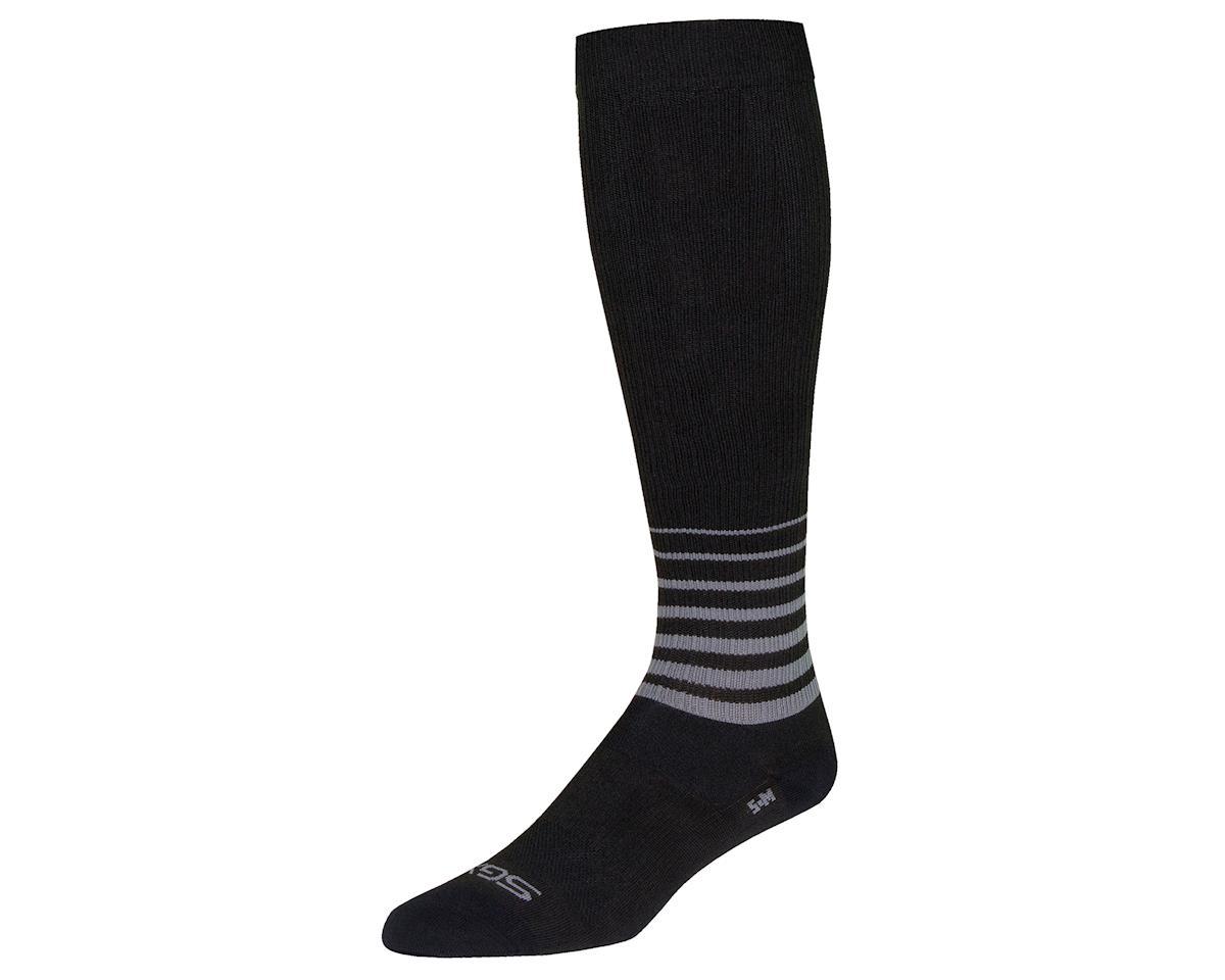 """Sockguy 12"""" SGX Socks (Blackout) (L/XL)"""