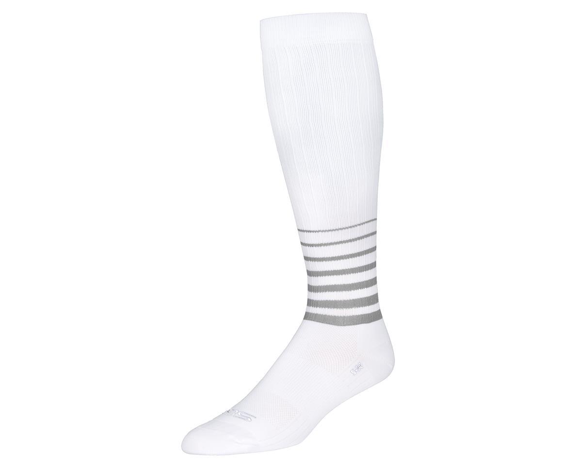 "Sockguy 12"" SGX Socks (Whiteout) (L/XL)"