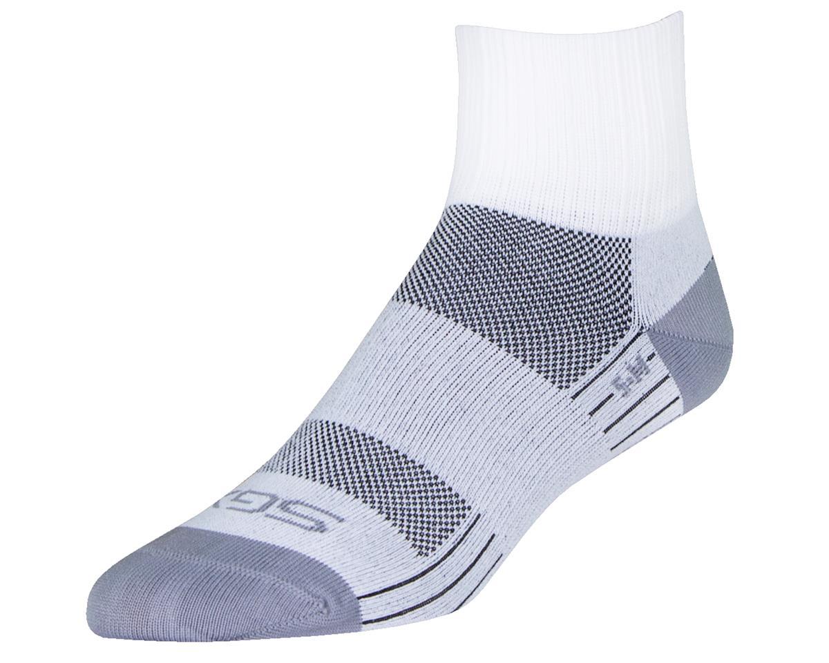 """Sockguy 2.5"""" SGX Socks (Salt) (S/M)"""