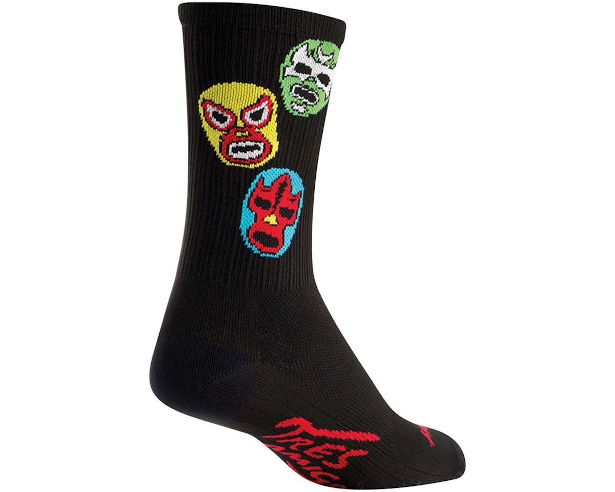 "Sockguy 6"" SGX Socks (3 Amigos) (L/XL)"