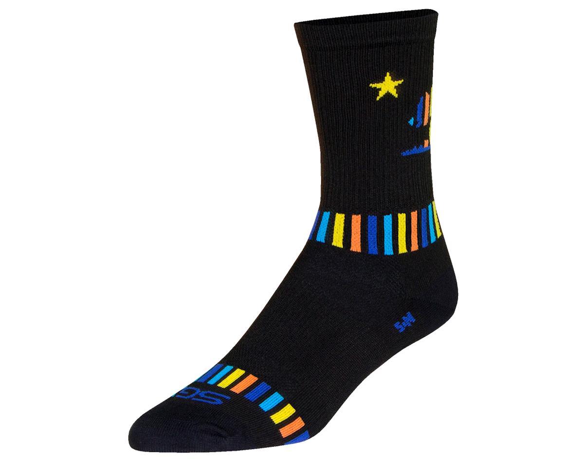 "Sockguy 6"" SGX Socks (Bearhug) (L/XL)"