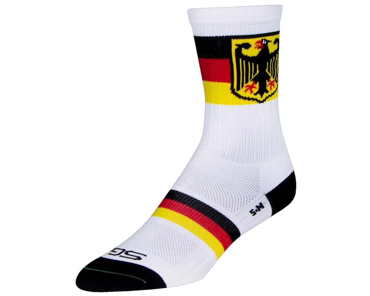 """Sockguy 6"""" SGX Socks (Deutsch) (L/XL)"""