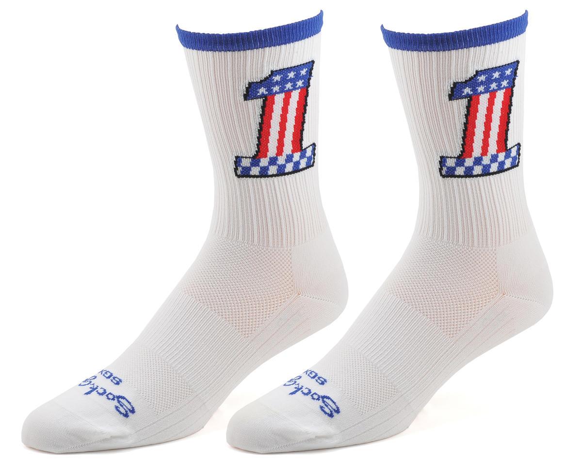 """Sockguy 6"""" SGX Socks (Evel Knievel) (L/XL)"""