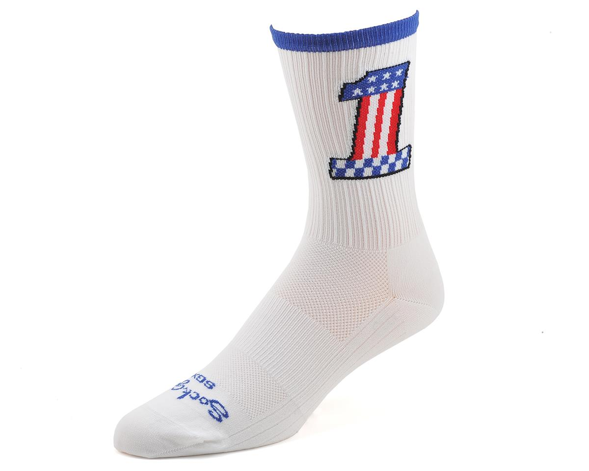 Sockguy SGX6 Compression Evel Knievel Socks (L/XL)