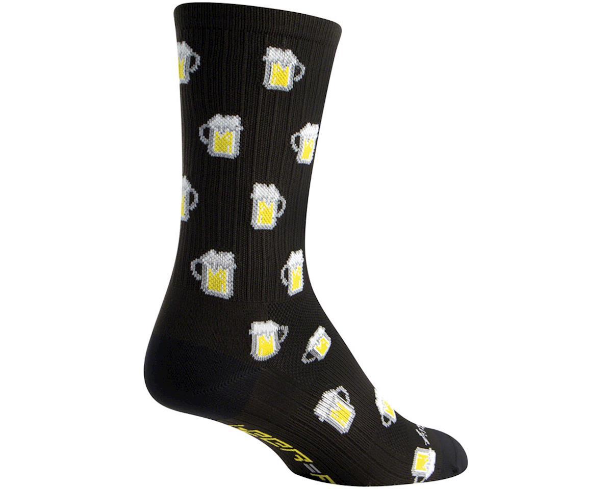 Sockguy Fuel SGX6 Socks (Black) (10-13)