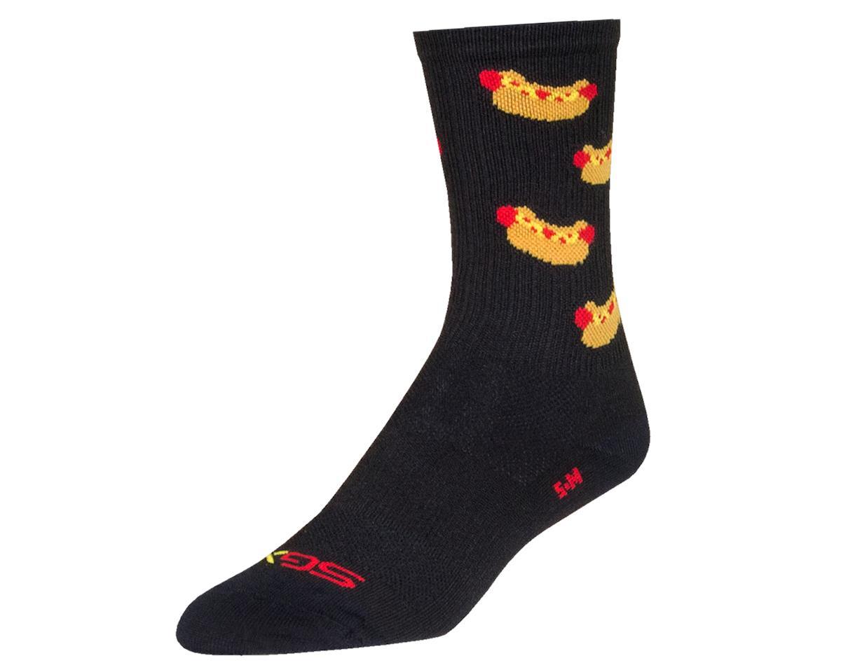 "Sockguy 6"" SGX Socks (Hot Dog) (L/XL)"