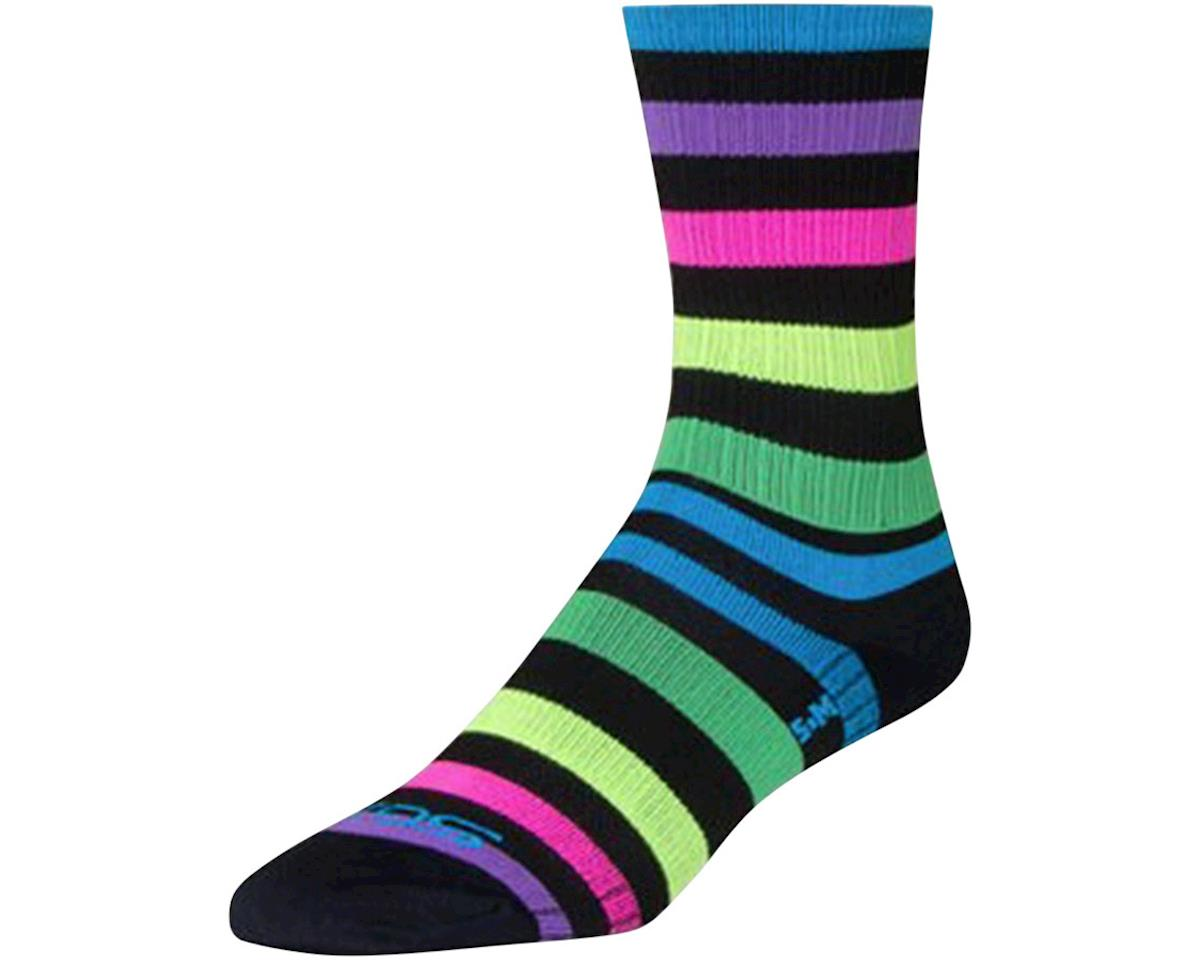 "Sockguy 6"" SGX Socks (Night Bright) (L/XL)"