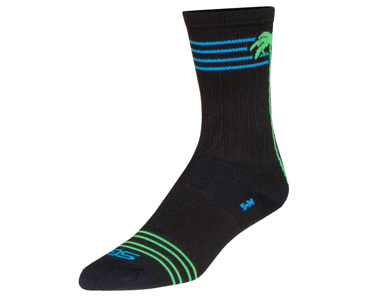 """Sockguy 6"""" SGX Socks (Palms) (L/XL)"""