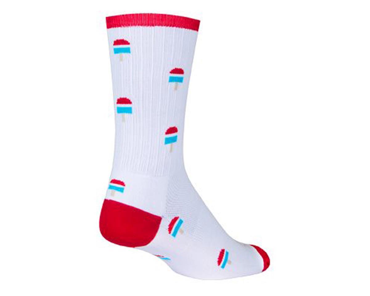 Sockguy Pops SGX6  Socks (White) (L)