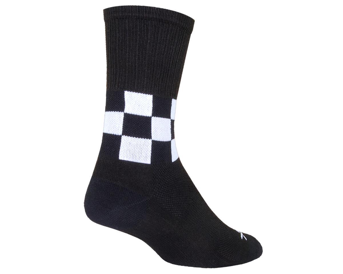 """Sockguy 6"""" SGX Socks (Speedway) (L/XL)"""