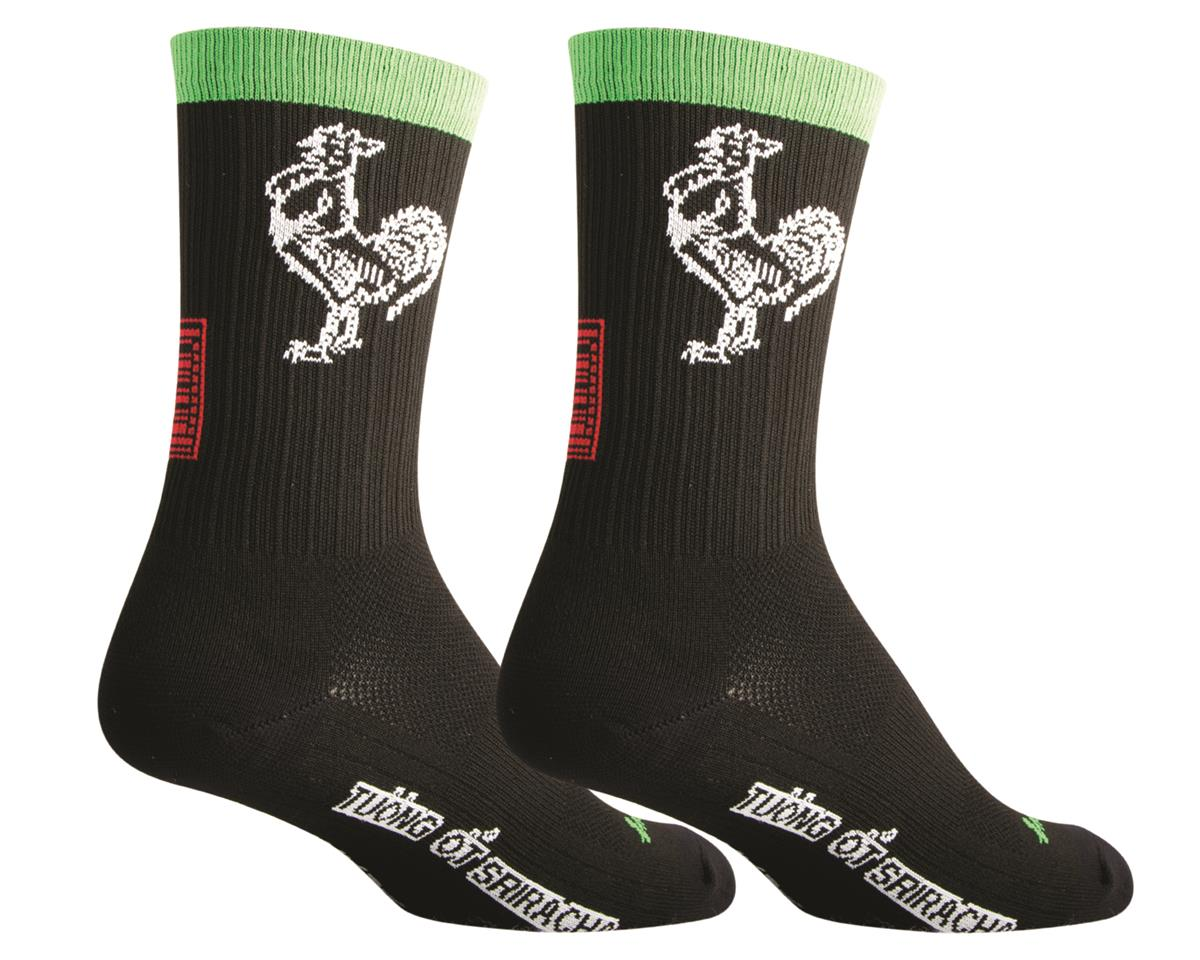 Sockguy SGX Sriracha Socks (Black) (L/XL)