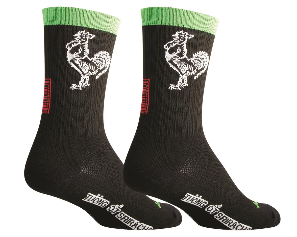 Sockguy SGX Sriracha Socks (Black)