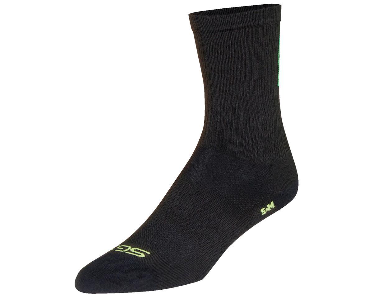 """Sockguy 6"""" SGX Socks (Team Skinny Legs) (Green) (L/XL)"""