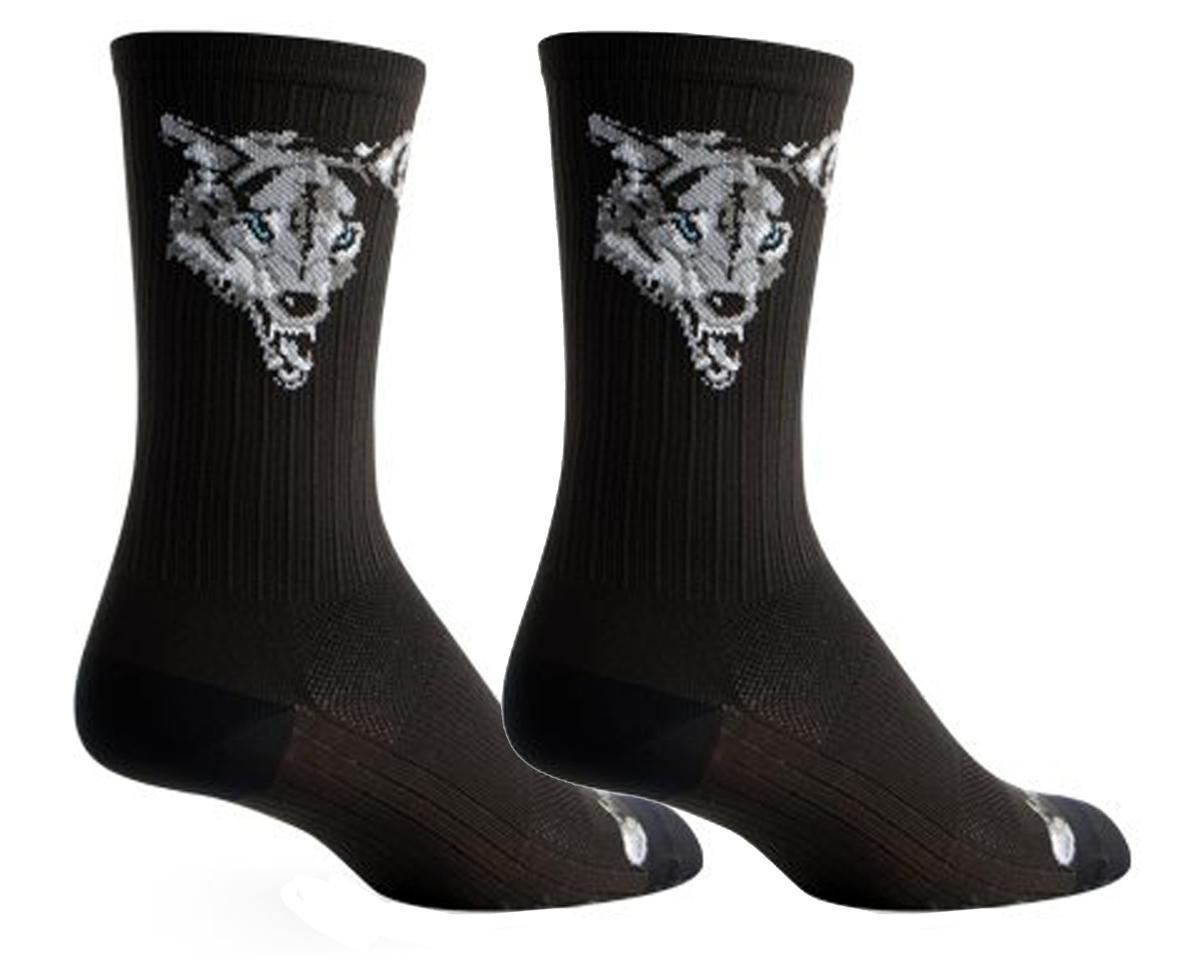 Sockguy SGX Wolf Socks (Black)