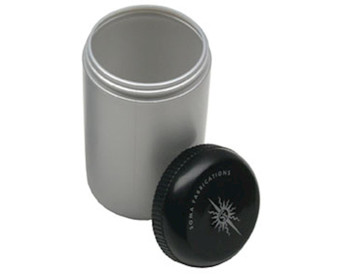 Stash Bottle (Silver/Black)