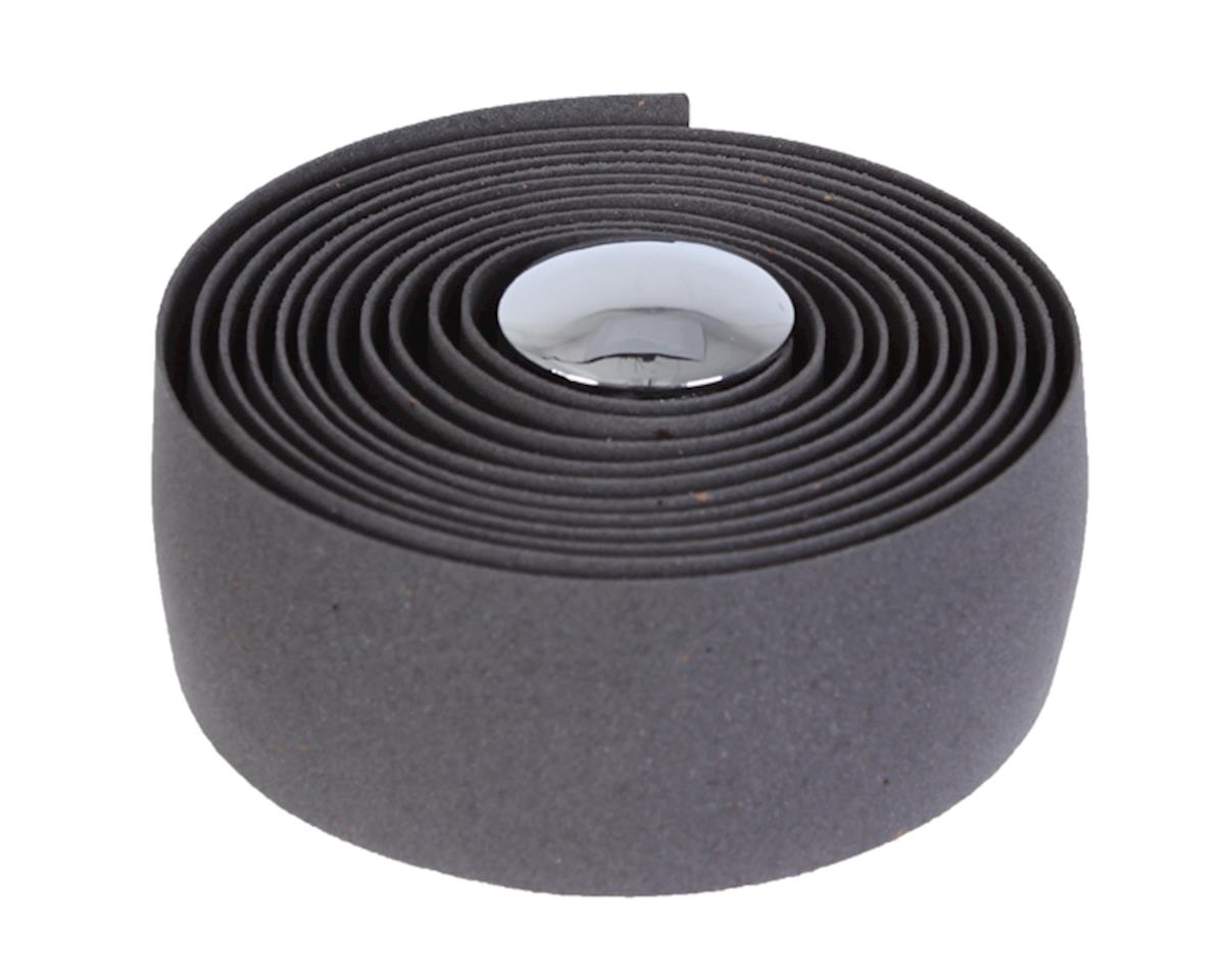 Soma Thick and Zesty Cork Bar Tape (Charcoal Gray)