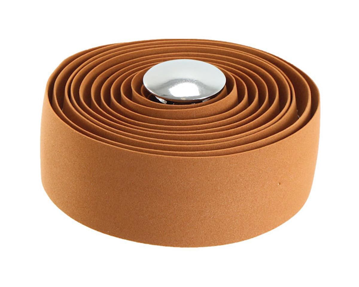 Soma Thick and Zesty Striated Bar Tape (Solid Brown)