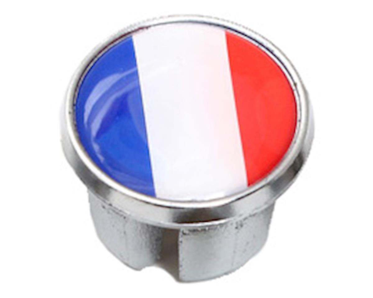 Soma International Flag Bar-End Plugs (France)