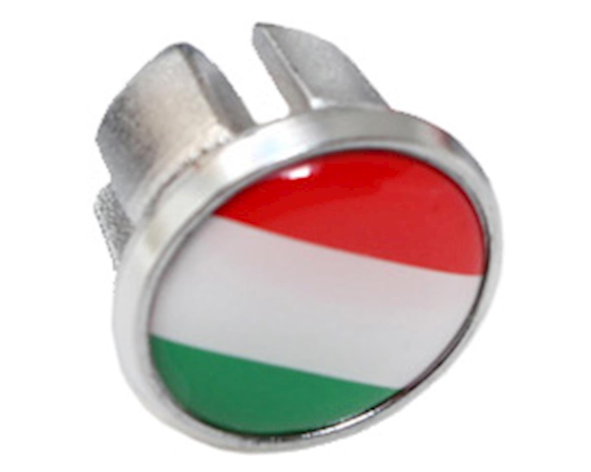 Soma International Flag Bar-End Plugs (Italy)