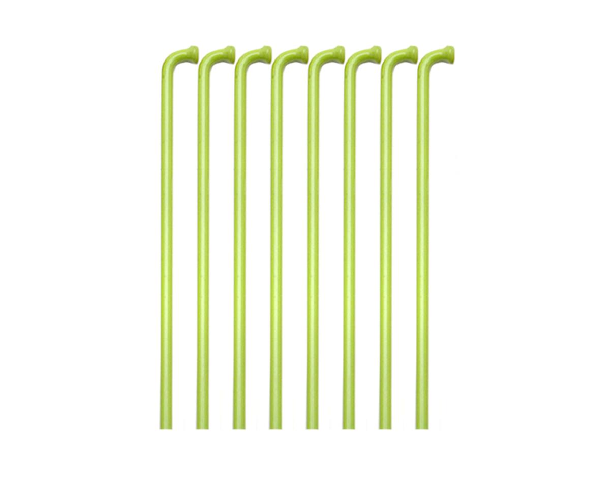 Soma Colored 14g spokes, 308mm - lime green (box/36)