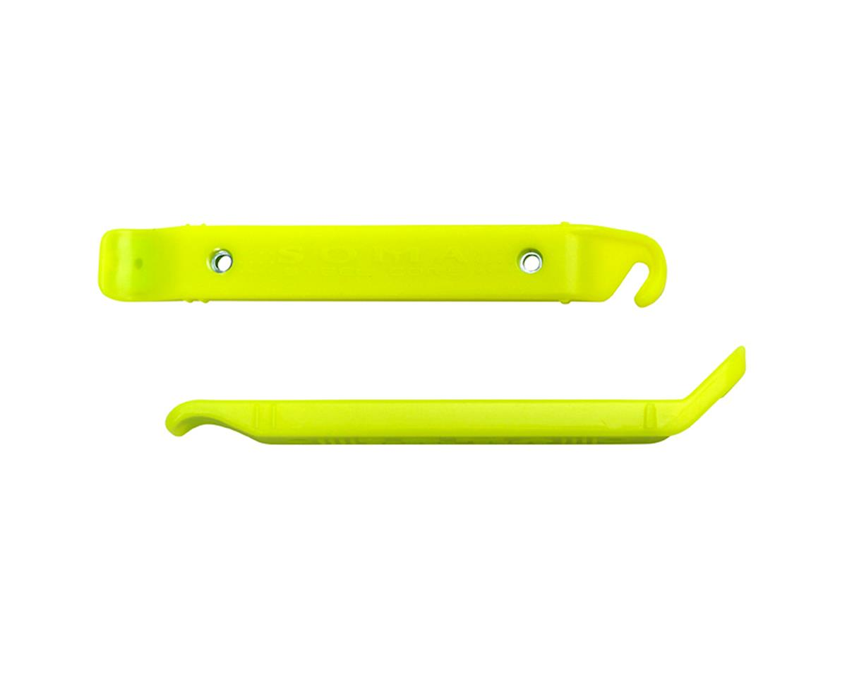 Soma Steel Core Tire Levers (Neon Yellow) (Pair)