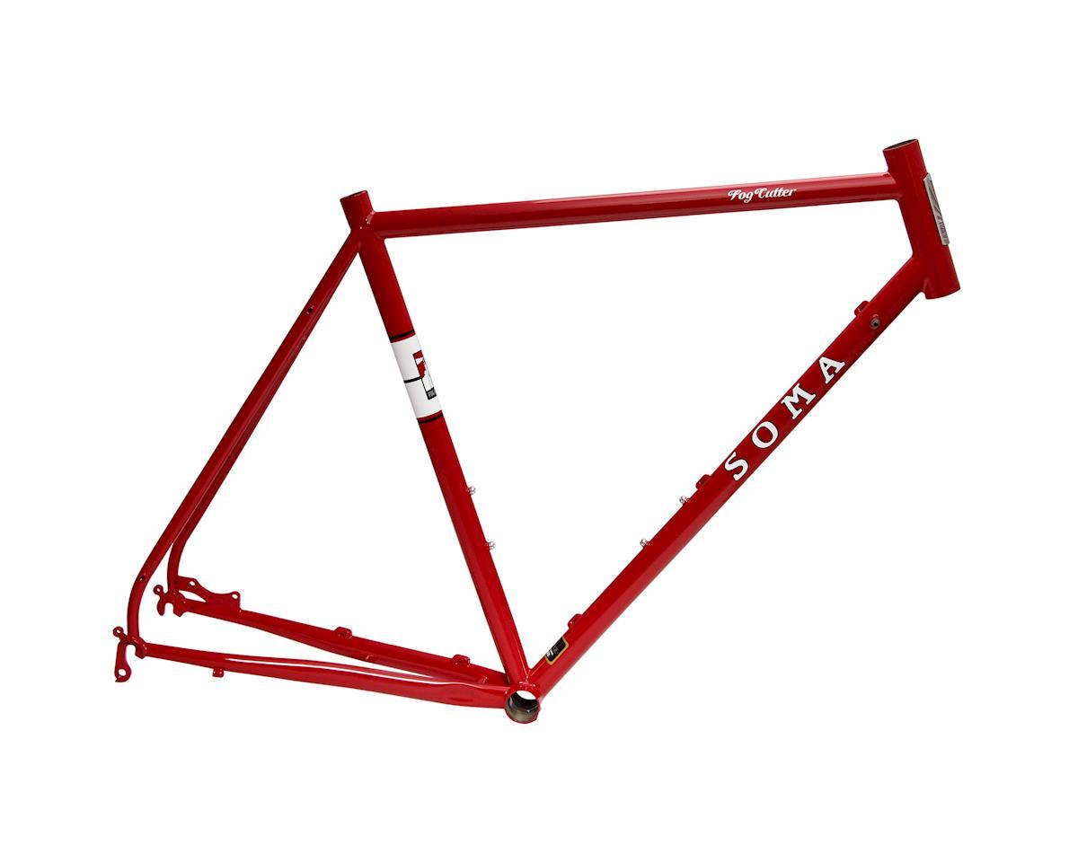 Soma Fog Cutter road frame, 54cm - rosso red