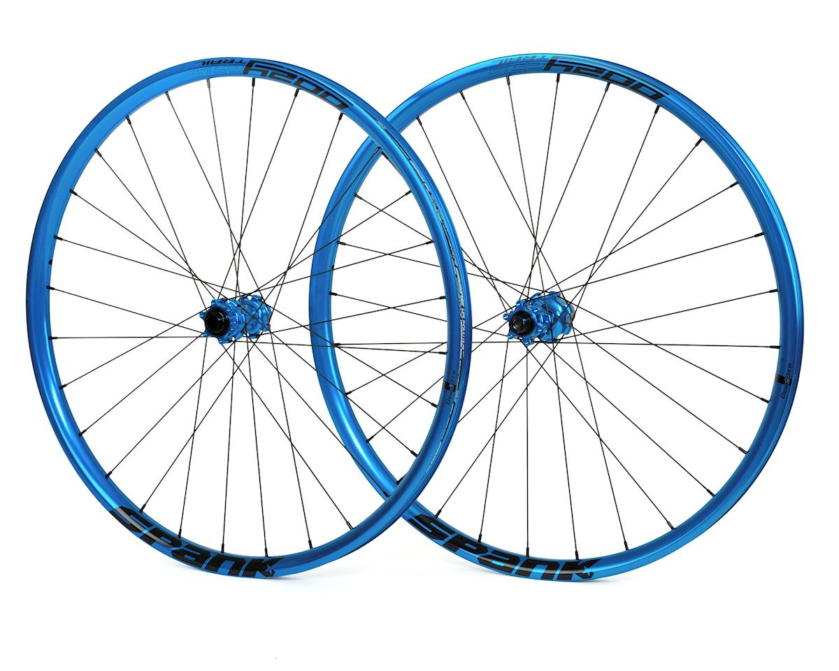 "Spank Oozy Trail 295 Bead-Bite Wheelset 27.5"" (Blue)"