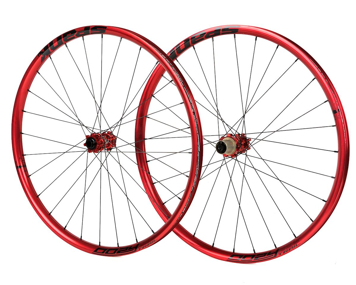 "Spank Oozy Trail 295 Bead-Bite Wheelset 27.5"" (Red)"