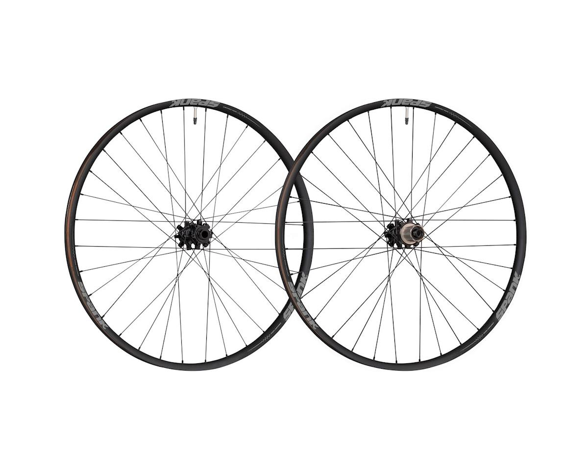 "Oozy 350 Boost Wheelset: 27.5"" 15 x 110mm Front 12 x 148mm Rear Shimano 10"