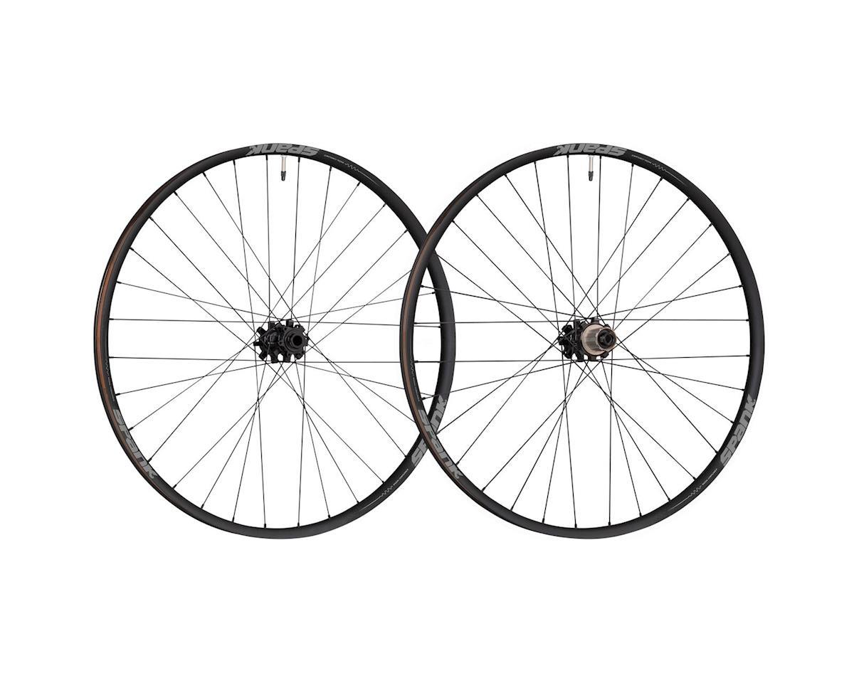"Spank Oozy 350 29"" wheelset, 10x135+12x142, HG, blk"