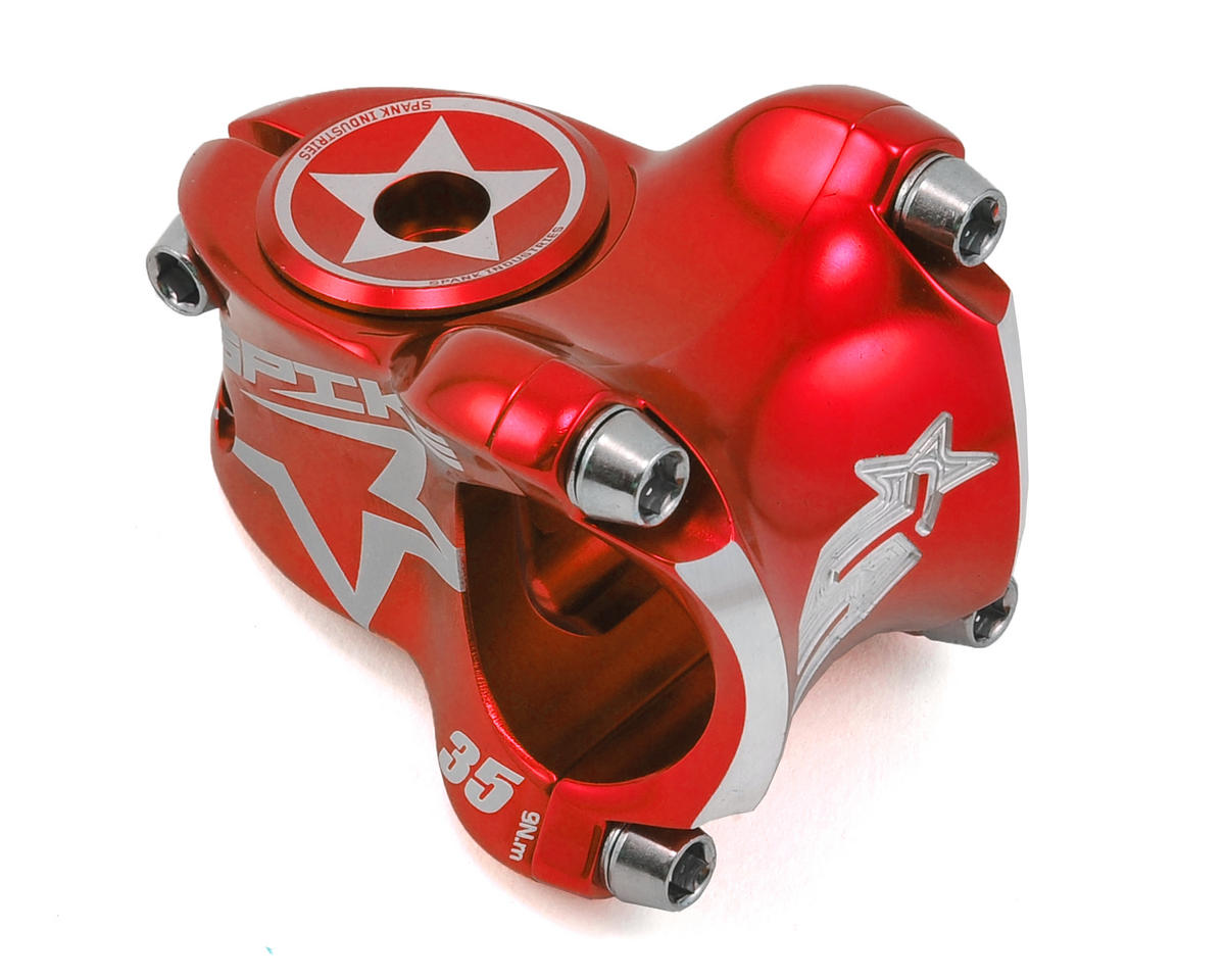 Spank Spike Race Stem (Red)