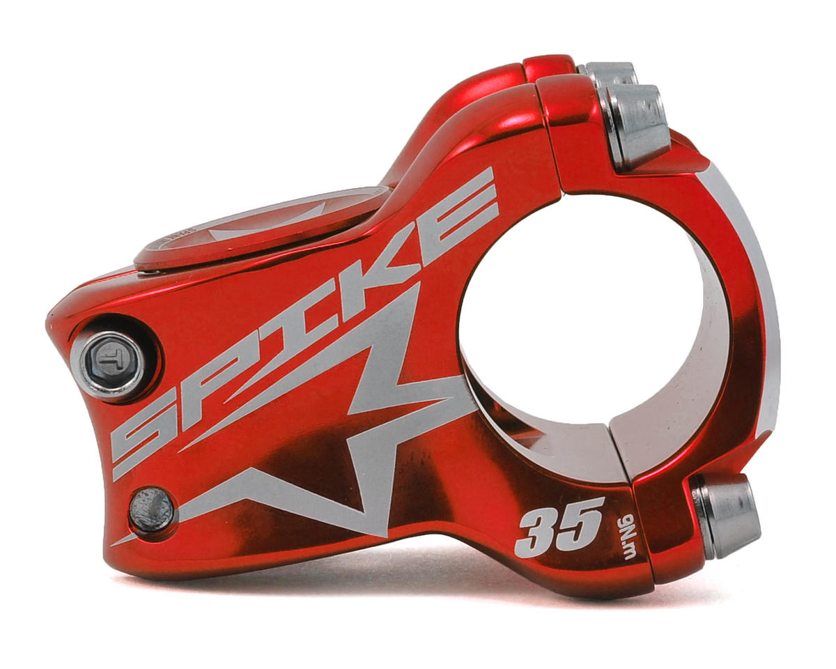 Spank Spike Race Stem (Red) (35mm)