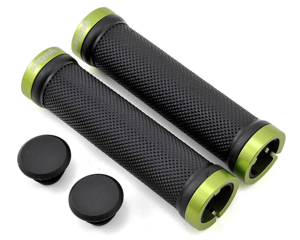 Spank Spoon Locking Grips (Green)